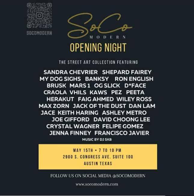 Opening Night May 15th