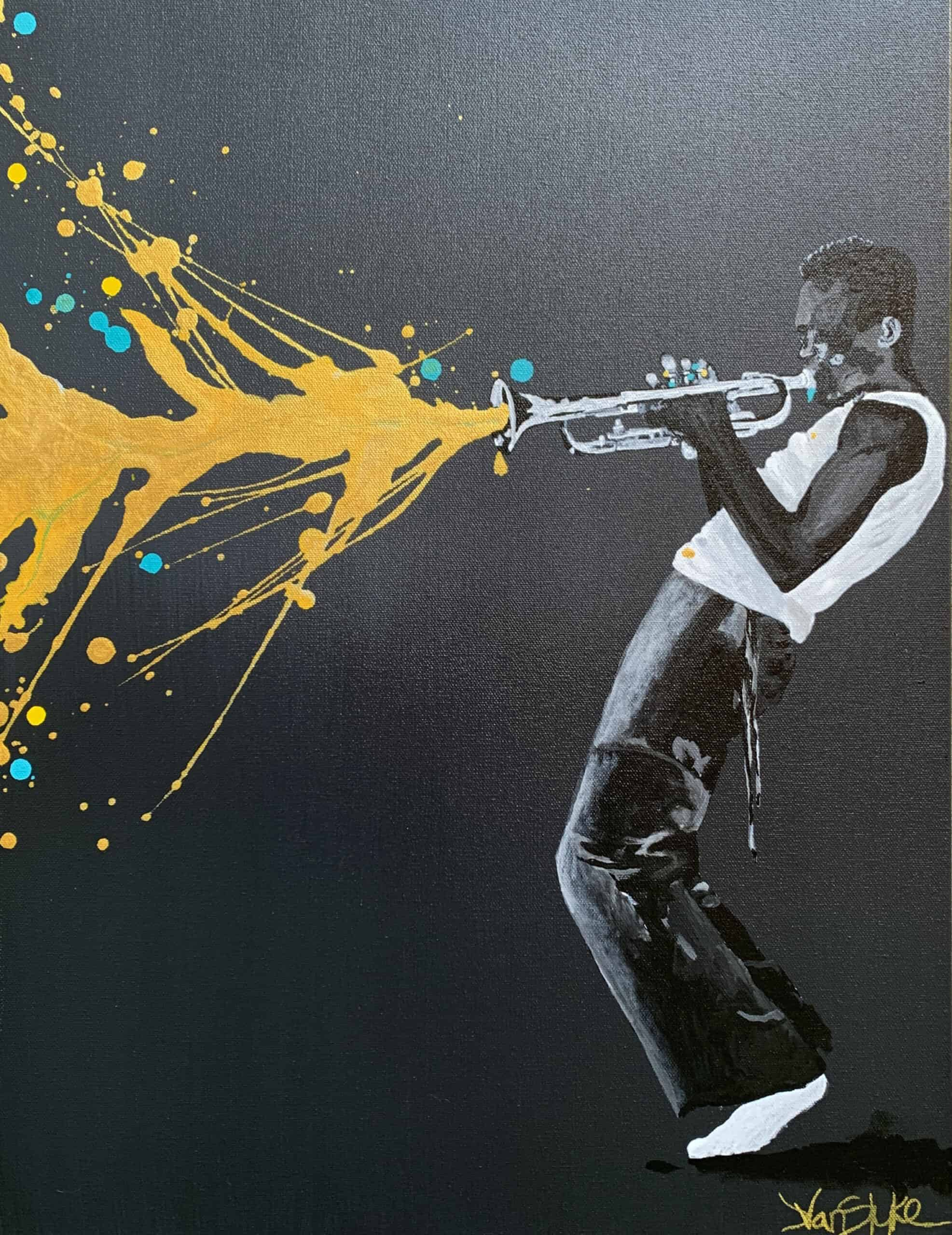 When your back is against the wall, turn your shine on (Miles Davis)